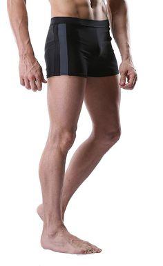 Men's Swim Trunk Solid Swimming Brief Swimsuit For Men Fitness Swimwear - Grey-No Draw String - Clothing, Swim, Racing Racing Swimsuits, Men's Swimsuits, Body Anatomy, Stay In Shape, Man Swimming, Swim Trunks, Mens Fitness, Men Swimwear, Trunks Swimwear