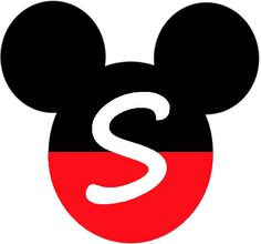 Mickey Heads with Alphabet. - Oh my Alfabetos! Minnie Mouse Template, Mickey Mouse Letters, Disney Letters, Theme Mickey, Mickey Mouse Art, Mickey Party, Mickey Head, Mickey Mouse Birthday, Letras Do Mickey
