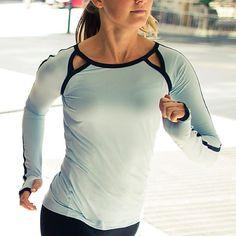 Lululemon Workout shirts   Womens Fitness Apparel   https://www.FitnessApparelExpress.com