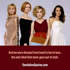 And we were dressed from head to toe in love… the only label that never goes out of style.