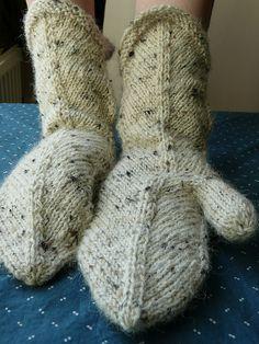 """""""mitered mittens"""" from elizabeth zimmerman"""