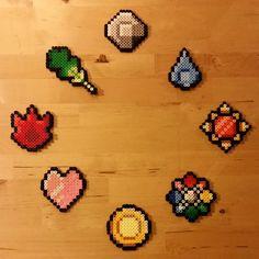 Beads - Kanto Badges by Oggey-Boggey-Man.deviantart.com on @DeviantArt