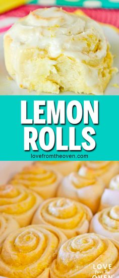 Lemon Cake Mix Rolls- Cake Mix Rolls Wow, these Lemon Rolls were AMAZING. Made like cinnamon rolls, but the flavor is all lemon! These are excellent, great for spring and perfect for Easter brunch! Lemon Roll Recipe, Rolls Recipe, Dessert Halloween, Lemon Cake Mixes, Lemon Cakes, Easter Brunch, Köstliche Desserts, Easter Recipes, Nutella