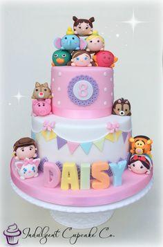 Tsum Tsum cake......