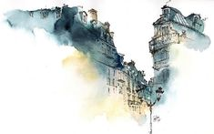 Architectural Watercolors by Sunga Park Famous places in Aquarelle painting is a project by Korean artist and illustrator Sunga Park. Sunga currently lives and works in Busan, South Korea. She started.