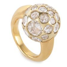 Pomellato Harem 18K Yellow Gold Crystal Harem Ring A.A701/O6/OJ-5