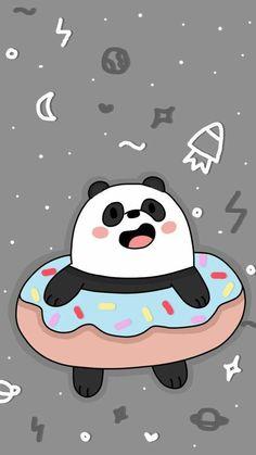 we bare bears wallpaper Cute Panda Wallpaper, Bear Wallpaper, Kawaii Wallpaper, Cute Wallpaper Backgrounds, Galaxy Wallpaper, Trendy Wallpaper, We Bare Bears Wallpapers, Panda Wallpapers, Cute Cartoon Wallpapers