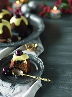 Cherry Snap Puddings