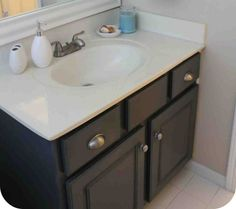 Paint for Bathroom Cabinets - Home Furniture Design Home Furniture, Furniture Design, Painting Bathroom Cabinets, Vanity, Bathroom Ideas, Dressing Tables, Powder Room, Home Goods Furniture, Vanity Set