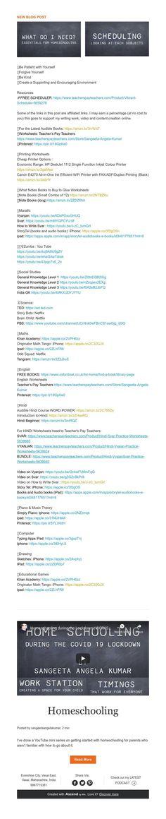 New Blog Post News Blog, Homeschool, Education, Onderwijs, Homeschooling, Learning