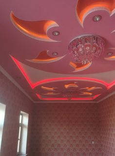 Modern Gypsum Ceiling Design Ideas For Your Home - Engineering Discoveries Front Wall Design, Gypsum Ceiling Design, House Ceiling Design, Ceiling Design Living Room, Bedroom False Ceiling Design, False Ceiling Living Room, Tv Wall Design, Ceiling Light Design, Roof Design
