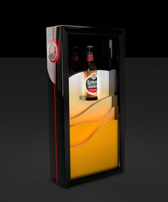 Estrella Galicia on Behance Pop Display, Display Design, Promotional Stands, Gernal Knowledge, Point Of Purchase, Contract Furniture, Wine Label, Pos, Vodka
