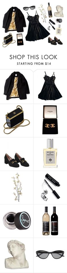 """""""♥︎ When you reach the end of your rope, tie a knot in it and hang on ♥︎"""" by daniellasinni ❤ liked on Polyvore featuring American Apparel, Chanel, Gucci, Acqua di Parma, Pier 1 Imports, Bobbi Brown Cosmetics, Sigma, House Parts and GUESS by Marciano"""
