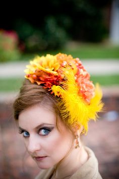 boho wedding fascinator Custom Made to order Marie Antoinette Hat Deluxe by SaiSaiArts, $175.00