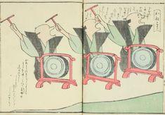 """江戸時代に活躍していた絵師 耳鳥斎(じちょうさい 又は にちょうさい)。耳鳥斎の絵の特徴は何と言ってもそのユルすぎるタッチ。まるで現代の漫画やイラストのようなテイストに、""""江戸時代の絵師""""と言われても信じない人が続出するほどなんです。Jap…"""