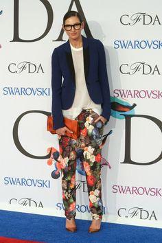 Jenna Lyons In J.Crew CFDA Fashion Awards 2014