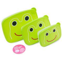 Lunch box grenouille frog cram cream vente accessoires et objets décoration enfants : My Little Bazar.