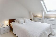 Knusse zolder slaapkamer