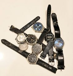What hubby found in his drawer. I remember a time when watches were expensive. Now the replacement batteries cost more than a new watch, or even a new watch strap. Me? I just use my phone to tell the time. Steampunk Hat, Half Mask, Steampunk Accessories, Telling Time, Drawer, Thats Not My, Masks, Watches, Phone