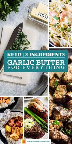 Make this EASY Garlic Butter Recipe with just 3 ingredients and one bowl! Garlic herb butter is the perfect complement to bread, vegetables, meats, and seafood. You will want to slather it on everything! #SundaySupper #garlicherbbutter #garlicbutterrecipe #garlicbutter #compoundbutter #steakbutter #thanksgiving #easyrecipes #butterrecipe #butter #herbbutter #holidays via @thesundaysupper Easy Thanksgiving Recipes, Easy Holiday Recipes, Fun Easy Recipes, Supper Recipes, Garlic Butter Spread, Homemade Garlic Butter, Herb Butter, Roast Beef Recipes, Turkey Recipes