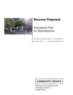 Weccacoe Playground Conceptual Plan
