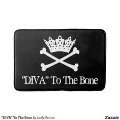 """DIVA"" To The Bone Bath Mats"