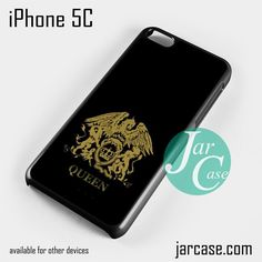 Queen band logo Phone case for iPhone 5C and other iPhone devices