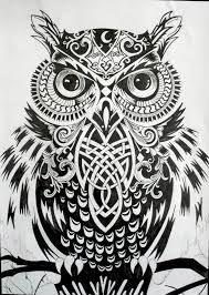 owl sketch - Căutare Google