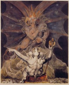 William Blake The Number Of The Beast Is 666