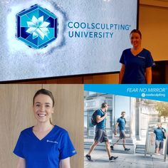 Bianca's becoming a #CoolSculpting pro to deliver safe and fast chilling treatments at Health & Aesthetics brand new clinic in #Elstead, #Surrey.