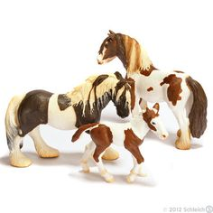 Schleich Tinker horses...I like these better than the new ones