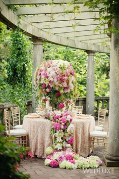 WedLuxe– The Secret Garden | Photography by: Vasia Weddings  Follow @WedLuxe for more wedding inspiration!