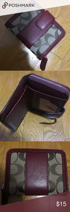 Coach wallet Used coach wallet. Very good condition Coach Bags Wallets