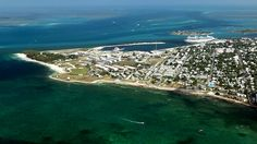 A glorious look at Key West from above. Travel Channel's choice as one of the top 10 Florida Beaches