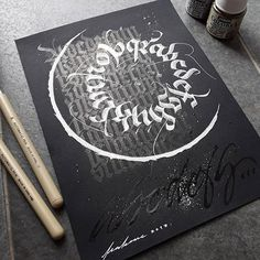 Wall Art Inspiration Fonts 60 Ideas For 2019 Tattoo Lettering Fonts, Graffiti Lettering, Hand Lettering, Graffiti Art, How To Write Calligraphy, Calligraphy Letters, Hindi Calligraphy, Art Deco Font, Inspirational Wall Art