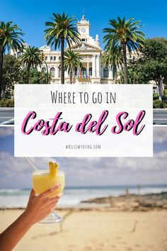Click to discover the 12 best places to visit on the Costa del Sol, Spain's sunshine coast. Experience authentic Spanish life in pretty villages and enjoy the buzz of the city in Malaga, or relax on some of the best beaches in Costa del Sol, from Torremelinos to Benalmadena. Read this list of the best things to do in Costa del Sol to plan your holiday!  #Marbella #Spain #Malaga #Photography #BestThingsToDoInSpain #CostadelSol #Torremolinos #Mijas #Benalmadena #Fuengirola #beach Stuff To Do, Things To Do, Road Trip Europe, Europe On A Budget, Travel Articles, Travel Advice, Travel Guides, Travel Tips, Travel Alone