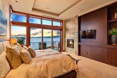 Bellevue Design Project on Lake Sammamish - contemporary - Bedroom - Seattle - Schoenfeld Interiors