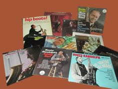 "Vintage Jazz: Group of Eleven ""Boots Randolph"" Vinyl LPs "" by trackerjax on Etsy"