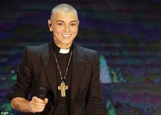 Ecstatic: Sinead O'Connor has revealed her joy at becoming a grandmother for the first time at the age of 48