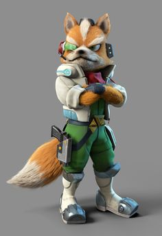 From Mario+Rabbids to Star Fox - Ubisoft and Nintendo partnership carries over to Starlink: Battle for Atlas Star Fox, Nintendo 2ds, Nintendo Games, Nintendo Characters, Video Game Characters, Fox Character, Character Design, Super Smash Bros, Wii U