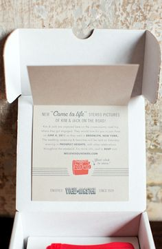 viewmaster invitation by mélangerie