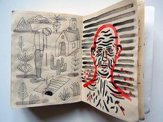 Hunter | Gatherer: Illustrators' Sketchbooks, Pt. II: Design Observer