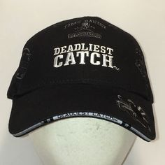 Fishing Hats - Check Out this Deadliest Catch Crab Fishing Hat and all the other Fishing Hats available in our store. Get your Fishing Hats Today & Save! Fishing Hats, Deadliest Catch, Men Cave, Baseball Caps, Winter Hats, Fashion, Baseball Hats, Moda, Fashion Styles