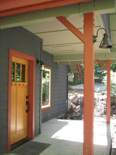 Paint Colors For A Mountain Cabin More The Doors Exterior Painting