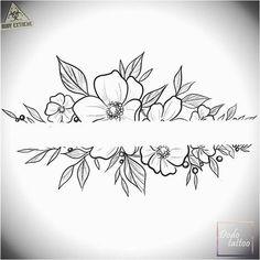 200 Fotos de tatuagens femininas no braço para se inspirar - Fotos e Tatuagens - Flower Tattoo Designs - Ein neues Design sucht den Besitzer zu einem Sonderpreis # Tätowierung - Mini Tattoos, Body Art Tattoos, Small Tattoos, Armband Tattoos, Sleeve Tattoos, Flower Tattoo Designs, Flower Tattoos, Flower Tattoo Drawings, Compass Tattoo