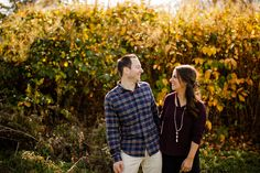 This beautiful couple had a blast during their Fall engagement photos session!  Saratoga Springs, NY engagement photographer