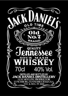 Jack Daniels Label, Jack Daniels Wallpaper, Rock Poster, Poster Wall, Beer Poster, Vintage Labels, Vintage Posters, Jack Daniel's Tennessee Whiskey, Jack Daniels Distillery