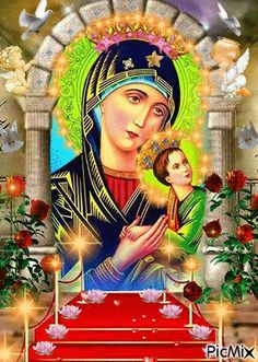 Holy Mary, Vote Sticker, Sainte Marie, Blessed Mother Mary, Virgin Mary, Holy Spirit, Madonna, Simple, Jesus Christ