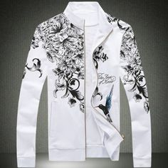 Clothes Type: Jackets  Material: Polyester, Cotton  Collar: Mandarin Collar  Clothing Length: Regular  Style: Fashion  Weight: 0.490KG  Sleeve Length: Long Sleeves  Season: Fall  Package Contents: 1 x Jacket  Our SizeBustLengthShoulder WidthSleeve Length M94664161 L9868426...
