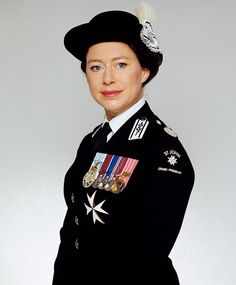 """HRH The Princess Margaret: """"Princess Margaret looked smart in her official uniform as the Grand President of St. Royal Family History, English Royal Family, British Royal Families, Princess Elizabeth, Royal Princess, Queen Elizabeth Ii, Princess Margaret Wedding, Princesa Margaret, Royal Films"""